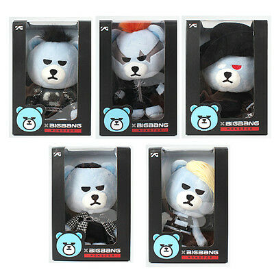K-Pop Star BIG BANG Bear ver.2 G-Dragon Taeyang Seungri T.O.P Daesung YG Plush