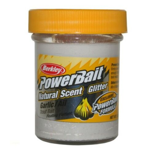 Berkley Powerbait Garlic White 1290576 Trout Bait Forellenpaste Troutbait