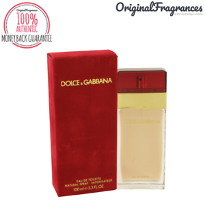 45bebf76e963b Details about Dolce   Gabbana RED Perfume 3.3   3.4 oz FOR WOMEN 100 ML EDT  SPRAY NEW IN BOX