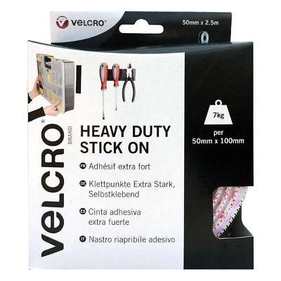 VELCRO ® marca Heavy Duty 50 mm auto adhesivo Hook /& Loop cinta