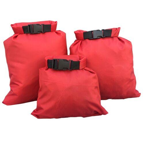 Details about  /3Pcs Outdoor Waterproof Canoe Hiking Camping Kayaking Storage Dry Bag Sacks Set