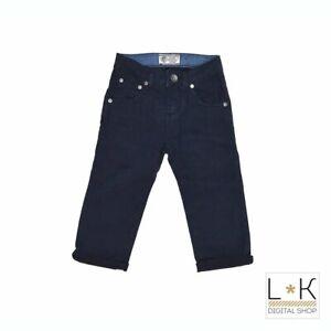 Pantalone 5 tasche Blu Neonato Fred Mello 13075