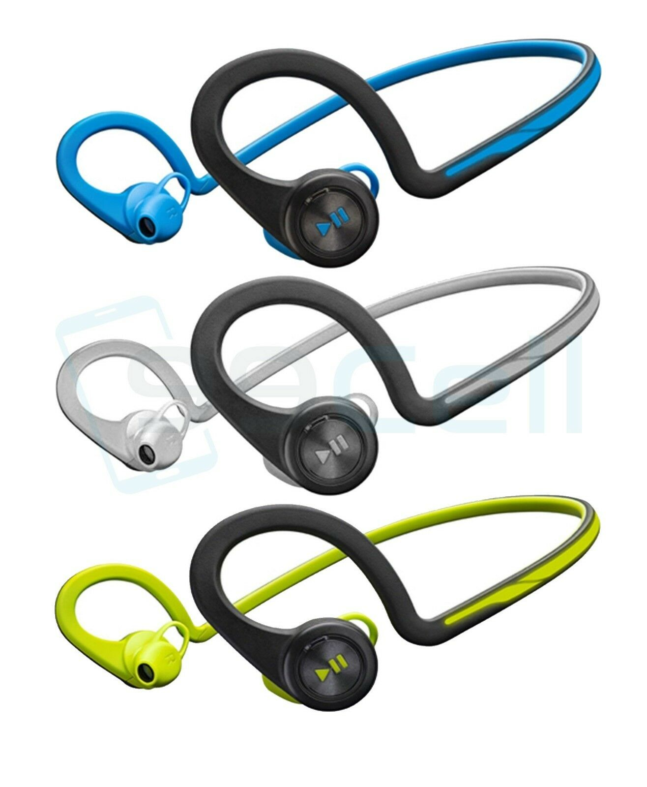 timeless design 34cd3 ae6c1 Details about Plantronics BackBeat FIT Waterproof Sport Wireless Bluetooth  Headphones