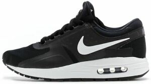 best sneakers 4b815 7750e Image is loading Nike-air-max-zero-gs-black-essential-sneakers-