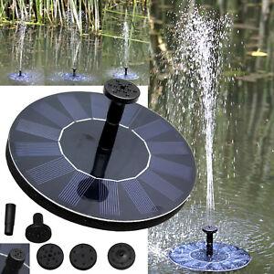BRAND-NEW-Solar-Bird-bath-Fountain-Pump-for-Garden-and-Patio-Free-Standing-1-4W