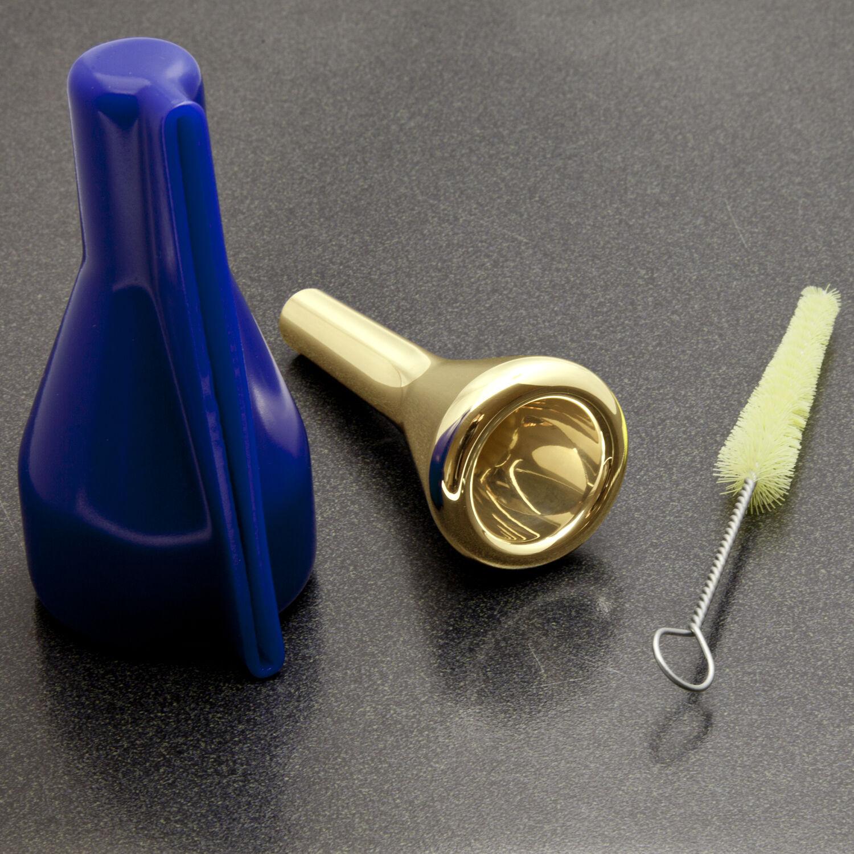 Genuine Christian Lindberg 24K Gold Trombone Mouthpiece, 15CL Small Shank NEW
