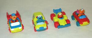 Sesame-Street-Tyco-Matchbox-Cars-Zoe-Elmo-Bert-Cookie-Monster-School-Bus