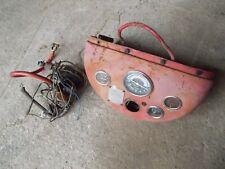Massey Ferguson Mf 50 Tractor Orig Dash Panel Amp Gauges Amp Wire Harness Tachometer