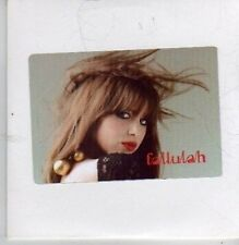 (BZ792) Fallulah, I Lay My Head - DJ CD