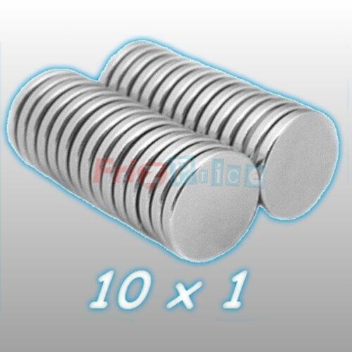 NEODIMIO MM 100 10X1 MAGNETI SUPER CALAMITA MAGNETE CALAMITE FIMO CERAMICA cs