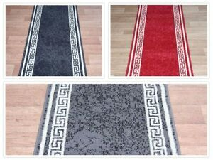 Stairs Hall Aztec Carpet Runner Any Size X 60cm 3 Colours
