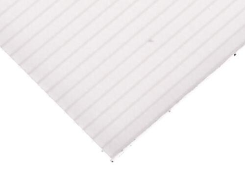 Polypropylen Doppelstegplatte320 x 235 x 4mm weiß 25,13 EUR//m² PP