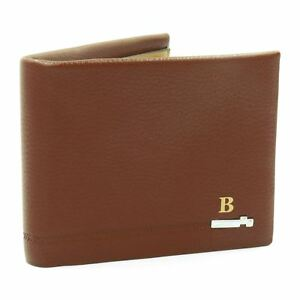 Fuendanai-Mens-Soft-Quality-Leather-Wallet-Credit-Card-Holder-Purse-Brown
