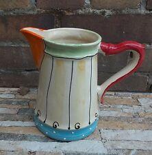 "Saftkrug Milchkrug Milchtopf ""1920""  Keramik pitcher jug in Zirkus"