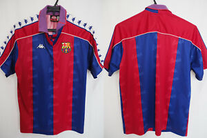 check out 8afc6 9f8e8 Details about 1992-1993-1994-1995 FC Barcelona Barca FCB Jersey Shirt  Camiseta Home Kappa M