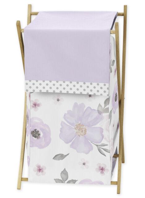BIRDROCK HOME Baby Kids Clothes Hamper with Lid Folding Cloth Hamper w// Handles