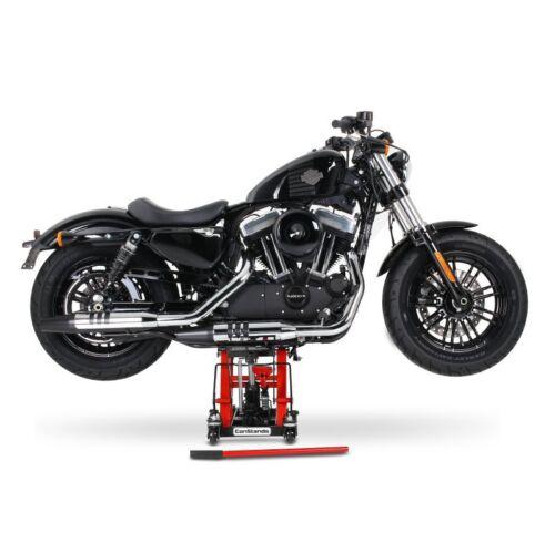 Motorrad-Heber L Kawasaki VN 1600 Classic Tourer//VN 1600 Mean Streak rot-schwarz