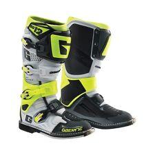 Gaerne SG-12 SG12 White Black Neon Men Size 11 MX Off Road Boots 2174-051-011