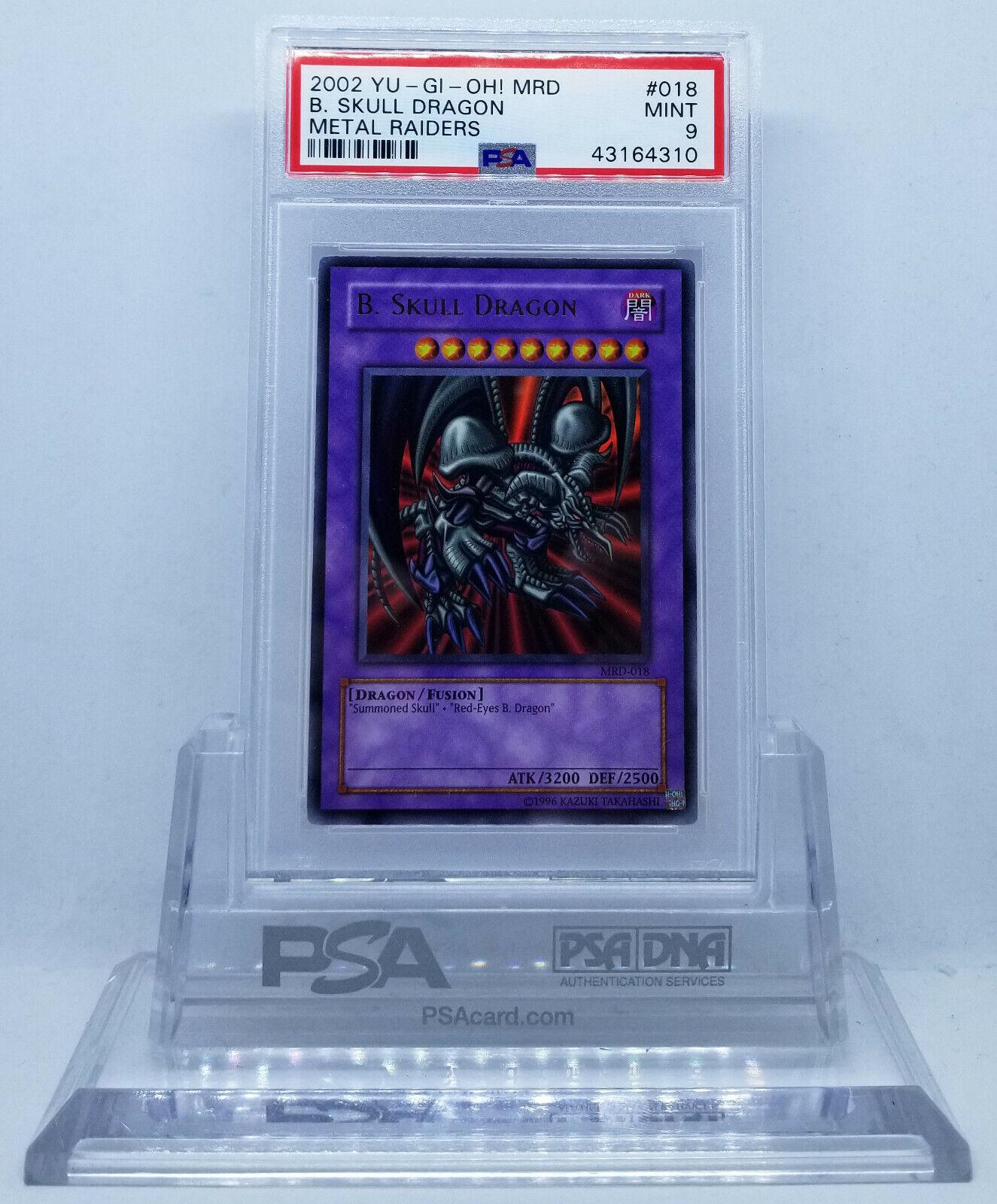 Skull Dragon súper Rare holograma tarjeta PSA 9 menta 35, 23, 32, 32
