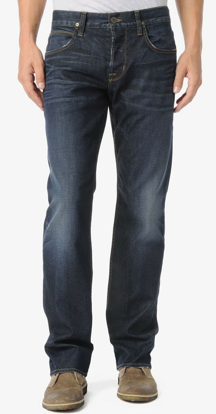 Nwt  Hudson Wilde Relaxed Straight Classic Jeans Pants Trouser Atlantis 30