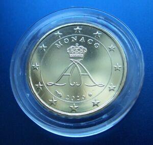 Monaco  2020   10 cent  Münze  in Münzkapsel   2020  NEU