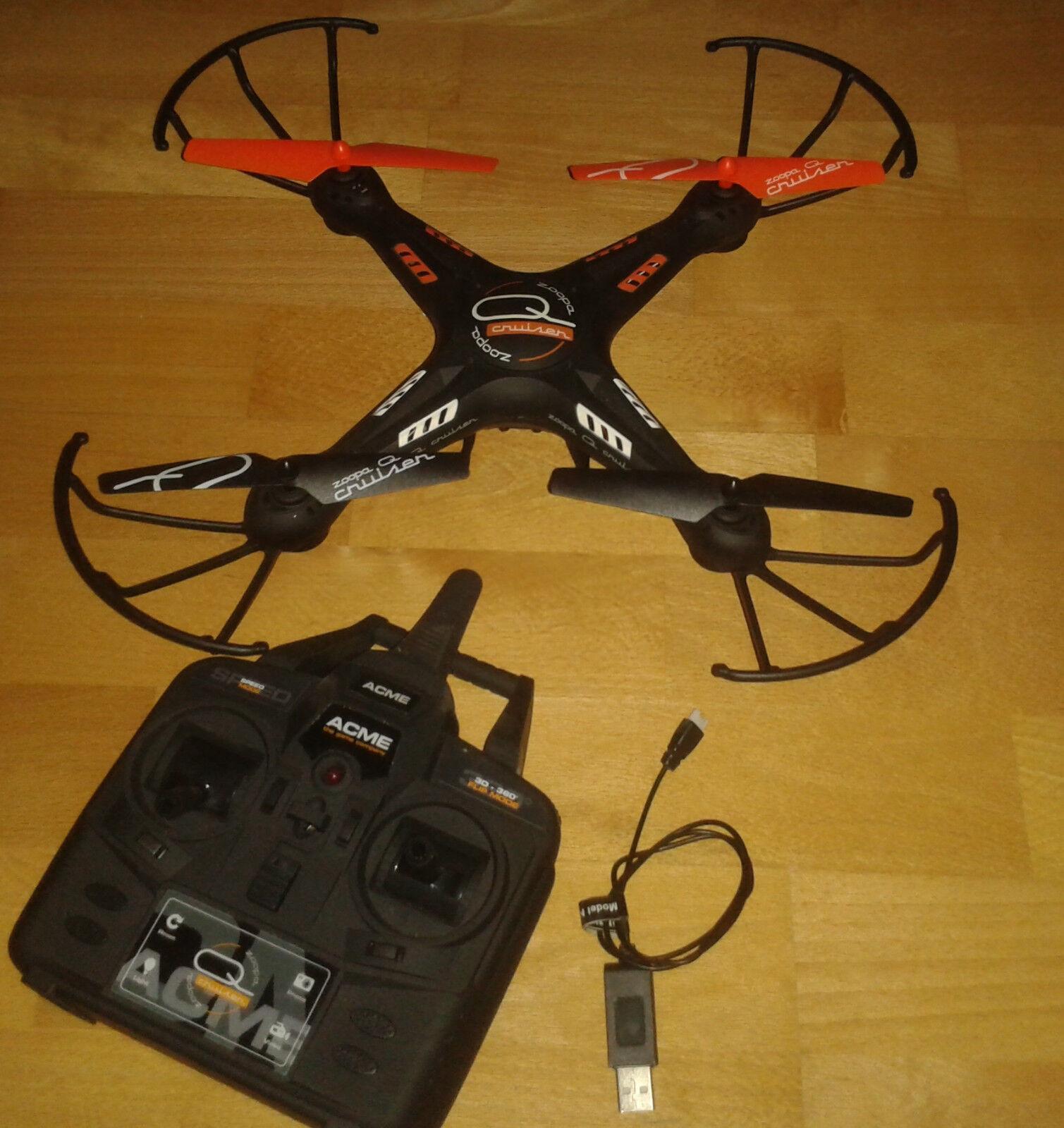ACME Zoopa q420 CRUISER Quadrocopter Con Videocamera HD Camera
