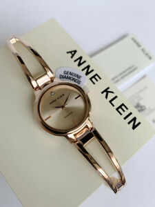 Anne Klein Watch * 2626RGRG Diamond Rose Gold Steel Bangle for Women COD PayPal