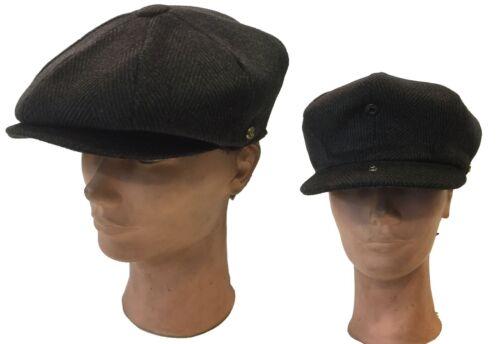 100/% Wool Applejack Fashion Newsboy Cabbie Driving Gatsby Snap Brim Hat Cap