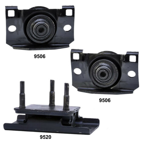 Xterra 4.0L 4WD Engine Motor /& Trans Mount 3Pcs Set for Nissan Frontier
