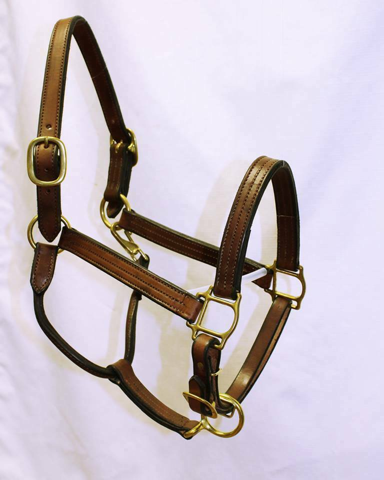 Cowboy Leather-  MI Handmade Leather Halter  preferential