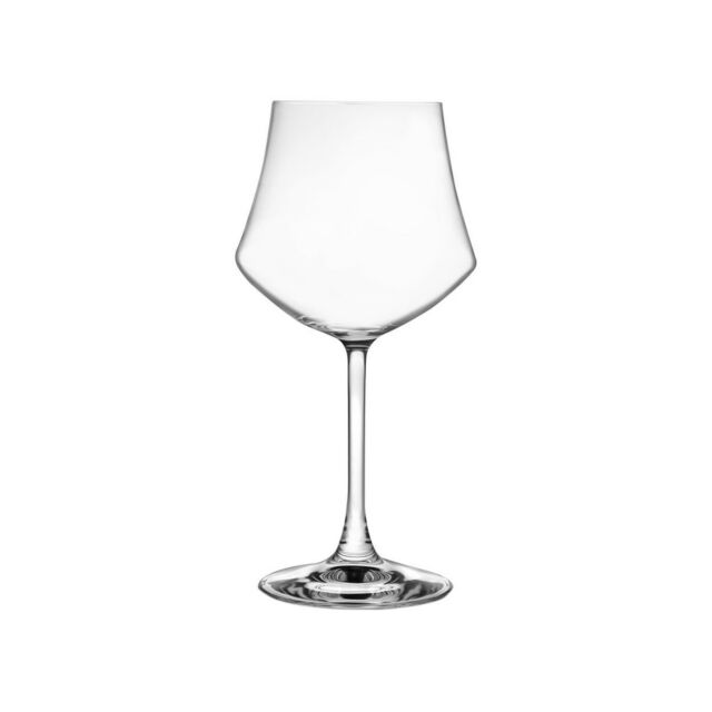RCR SET 6 CALICI IN VETRO SONORO DA VINO 43CL EGO