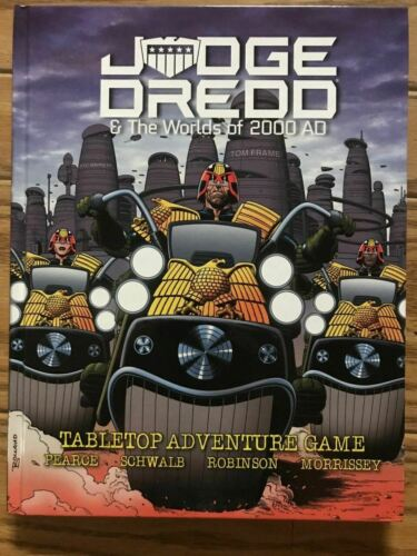 Judge Dredd /& The Worlds of 2000 AD RPG Core Rulebook