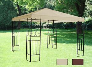 Image Is Loading 3x3 Garden Metal Gazebo Canopy Pavilion Shade Screen