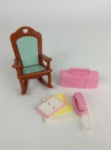 Fisher Price Loving Family Dream Dollhouse Toys Rocking Chair Set