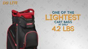 ee6baabc2977 new datrek dg lite ii golf cart bag. choose your color. 15-way top