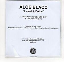 (GP225) Aloe Blacc, I Need A Dollar - DJ CD