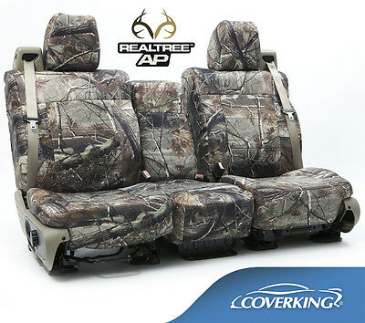 5102033-34 NEW Full Printed Realtree AP Camo Camouflage Seat Covers