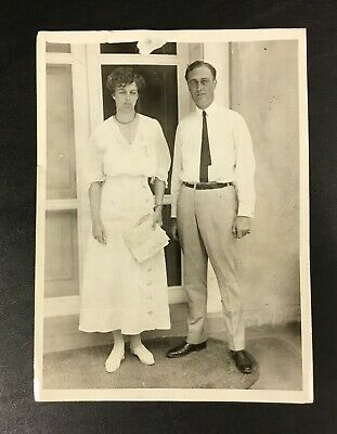 Franklin Delano Roosevelt Photograph Vintage Photo from 1920