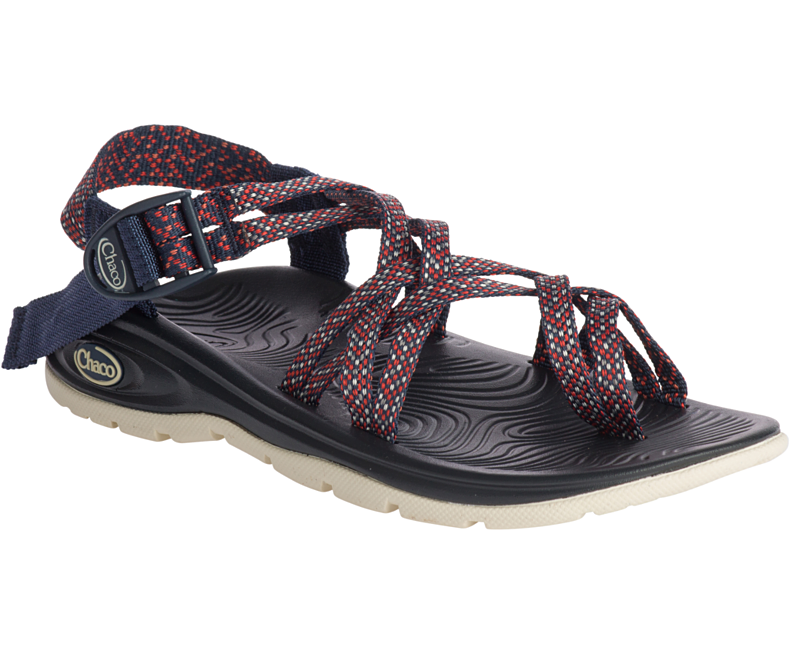 CW77 New Chaco Z Volv X2 Sandal Trail River Beach Casual Water Women 7 Grenadine