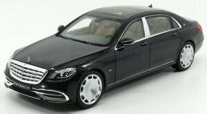 NOREV 1/18 MERCEDES BENZ | S-CLASS S650 MAYBACH (X222) 2020 | MAGNETITE BLACK