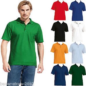 professioneller Verkauf abholen günstiger Preis Details zu Herren Poloshirt m. Brusttasche Polo Shirt Übergröße XS S M L XL  XXL 3XL 4XL 5XL