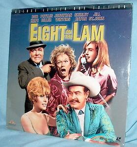 LD-laserdisc-EIGHT-ON-THE-LAM-Bob-Hope-FACTORY-SEALED