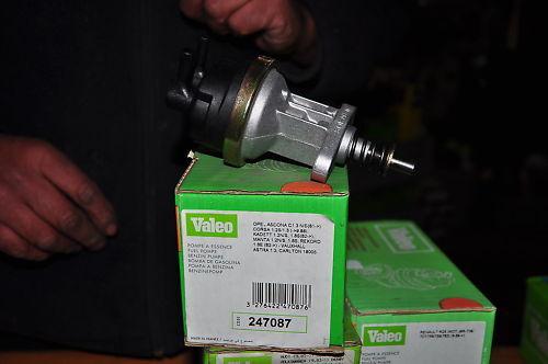 Opel Rekord E Manta B Cc VALEO Mechanical Fuel Pump Gas 1.8L 1982-1987