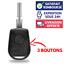Boitier de Télécommande Plip Coque pour Clé BMW E36 E46 E90 E91 E92 E93 ►Serie 3
