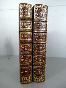 Raulin-Traite-des-fleurs-blanches-Maroquin-l-039-exemplaire-de-l-039-auteur-gynecologie