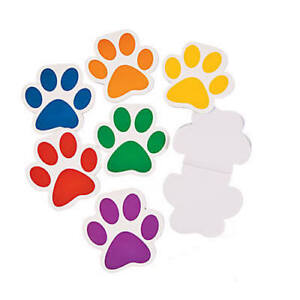 Pack-of-12-Paw-Print-Notepads-Party-Bag-Fillers