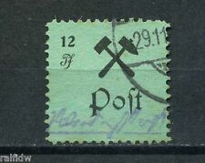 Lokalausgabe Großräschen 12 Pfg. Gebührenmarke 1945 Michel 25 Typ II (S6311)