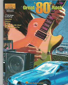1980s HITS FOR GUITAR Sheet Music Book Songbook 80s Pop ...