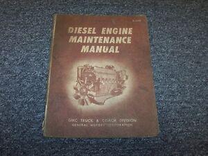 detroit diesel gm series 71 in line engine 4 71 6 71 service rh ebay com Knight Helm Anne Helm