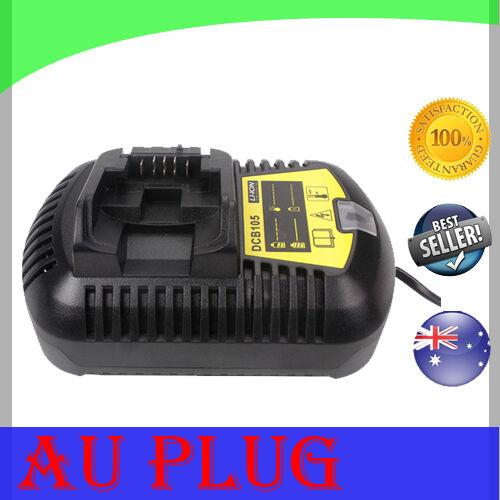 Battery Charger For DEWALT DCB105 12V - 20V Multi Voltage Li-Ion Power Tools AU
